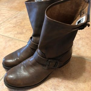 Frye Brown Mid-Calf Boots